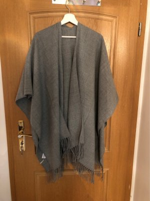 Pieces Long Knitted Vest grey