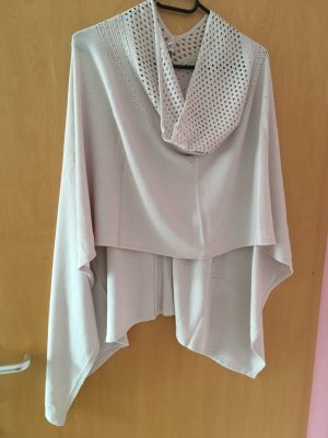 Street One Knitted Poncho cream