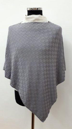 Poncho grigio