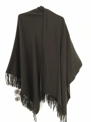 Only Poncho marrone scuro