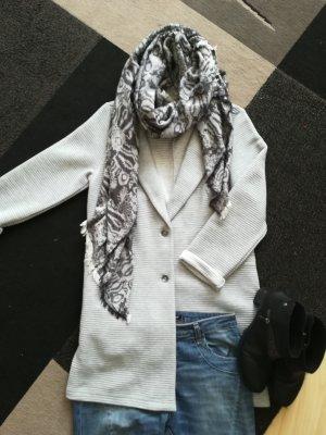Tom Tailor Poncho color plata-gris