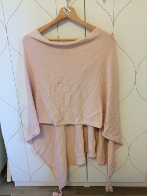Comma Poncho rose-gold-coloured