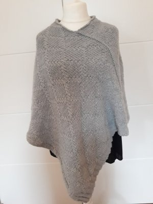 Poncho light grey