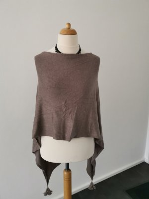 Comma Poncho light brown
