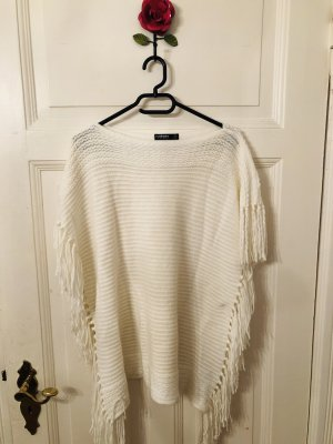 Colours of the World Poncho natural white