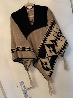 Tally Weijl Knitted Poncho multicolored