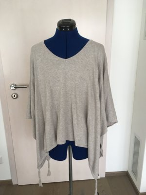 Comma Knitted Poncho beige