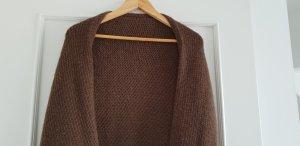 American Vintage Poncho marrón