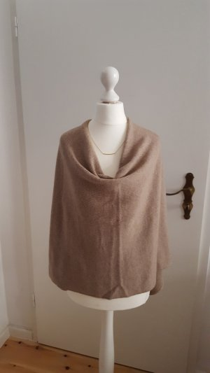 Poncho aus Wolle Cashmere Mischung