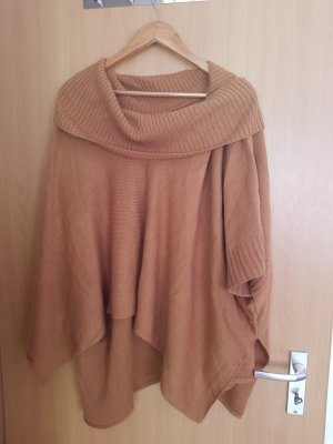 H&M Poncho light brown-camel