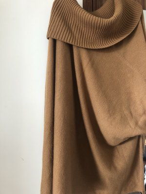 Poncho brun