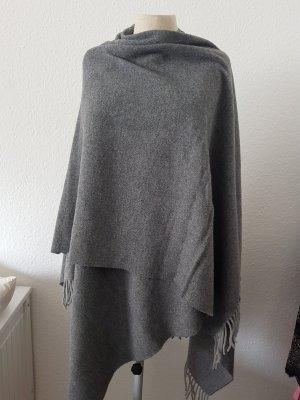 Hallhuber Poncho gris