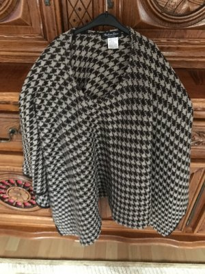 Made in Italy Poncho in maglia multicolore