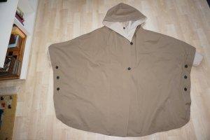 Cape grey brown-natural white cotton
