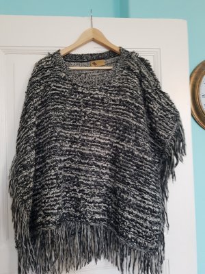 Poncho dark grey-anthracite