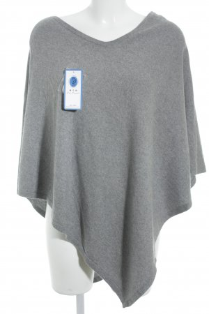 Poncho gris style simple