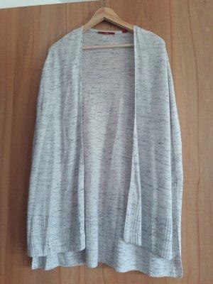 s.Oliver Oversized Jacket white-light grey
