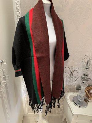Poncho multicolore