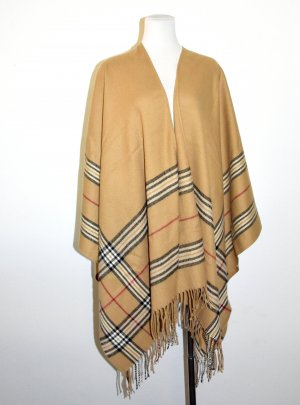 Judith Williams Knitted Poncho multicolored polyacrylic