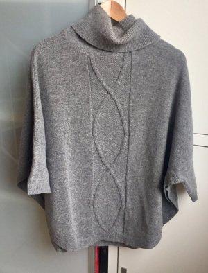 Poncho Pullover aus Wolle wie neu