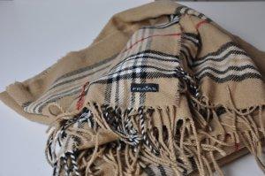 Poncho Schal von Fraas mit Burberry Muster