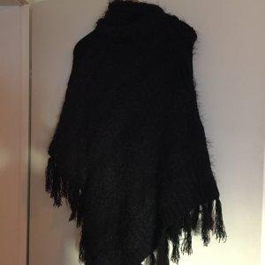 Poncho, schwarz; Orsay