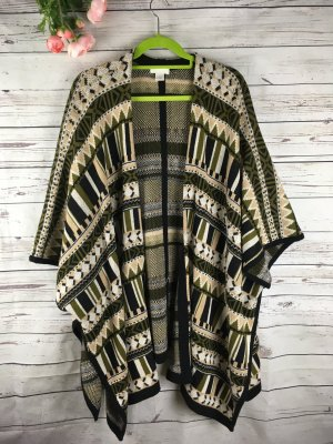 Poncho Strickponcho Strick Knitware H&M Gr. XS / S Cape