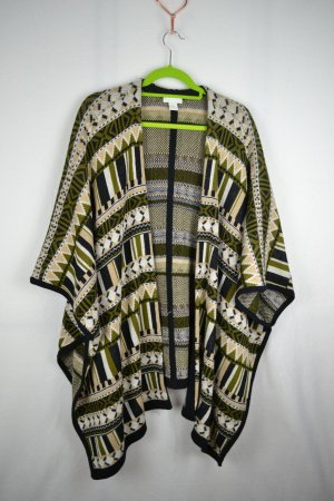 Poncho Strickponcho Strick Knitware H&M Gr. XS / S Cape