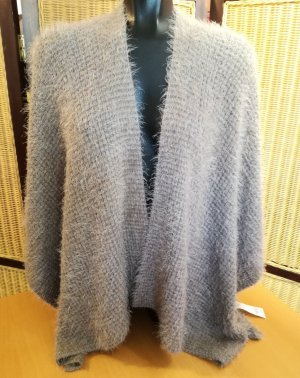 Betty Barclay Poncho grey brown-azure mixture fibre