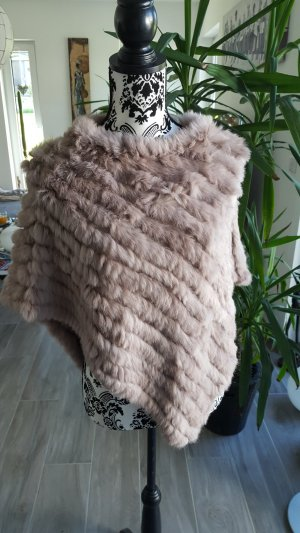 Breuninger Fur Jacket light brown-brown