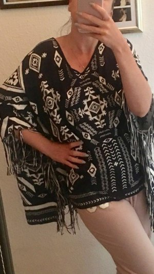 H&M Divided Poncho multicolor