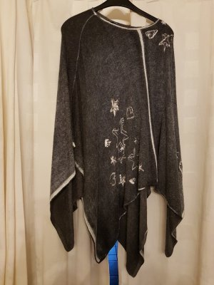 Street One Poncho anthracite