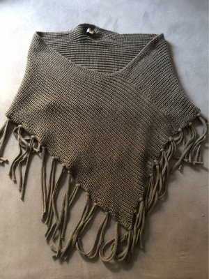 Poncho anthracite