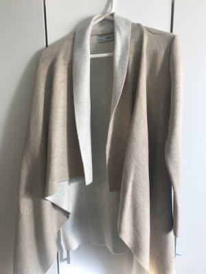 Zara Knit Poncho blanc cassé-crème