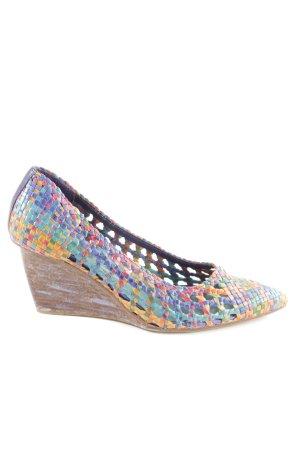 Pons Quintana Ballerinas mit Spitze mehrfarbig Street-Fashion-Look