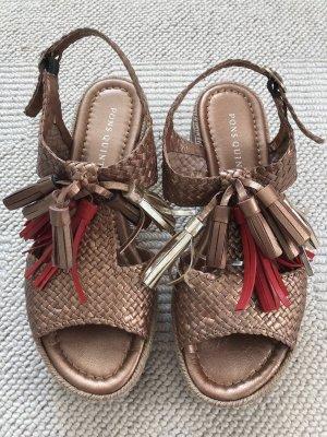 Pons Quintana Outdoor Sandals brown-orange