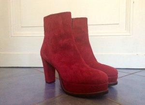Pons Quintana Luxus Stiefeletten/High Heels, Gr. 40, 100% Leder