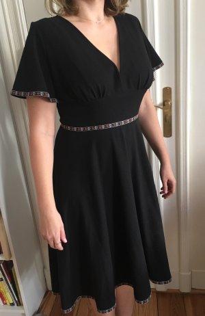 Pony Maedchen Kleid Pin up 50er Vintage Rockabella Tanzkleid