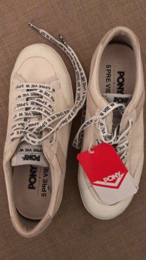 5 Preview Lace-Up Sneaker white-natural white leather