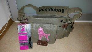 """poodlebag Handtasche """"Friday"""" khaki/pink"""