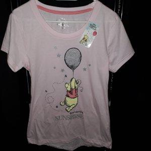 pooh disney S rosa Shirt mit Etikett