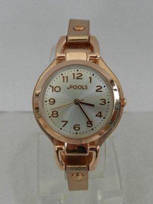 Pools Armbanduhr mit Metallic Effekt - Neu, Originalverpackung
