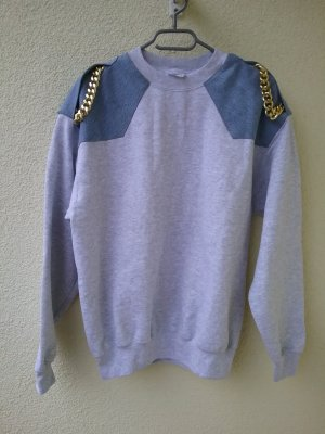 Sweat Shirt light grey cotton