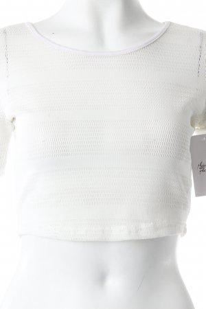 Pop Cph Cropped Shirt Netzstoff