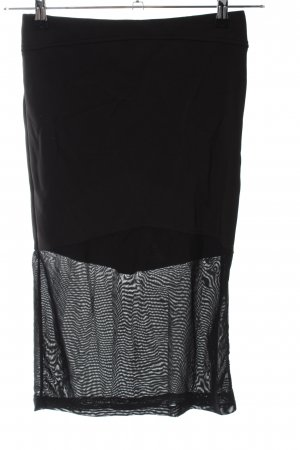pop cph Stretch Skirt black casual look