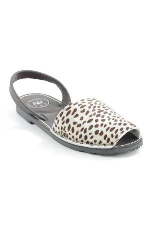 Pop Sandales confort motif léopard style décontracté