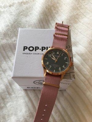 Pop-Pilot Uhr in Rosa