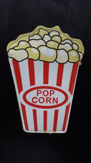 Popcorn Börse Portemonnaie Beutel Gwldbeutel Mini Anhänger Gag