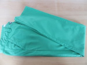 0039 Italy Chinos green cotton