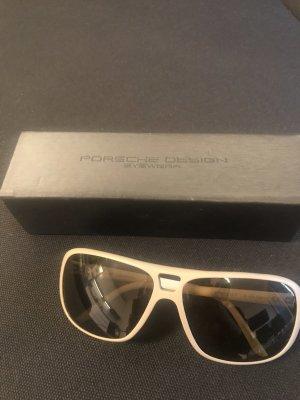 Porsche Design Pilotenbril grijs-bruin